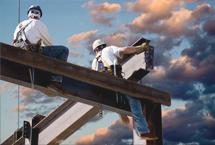 现场建设铁架